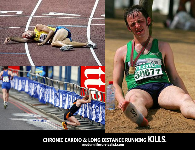 chronic cardio long distance running kills