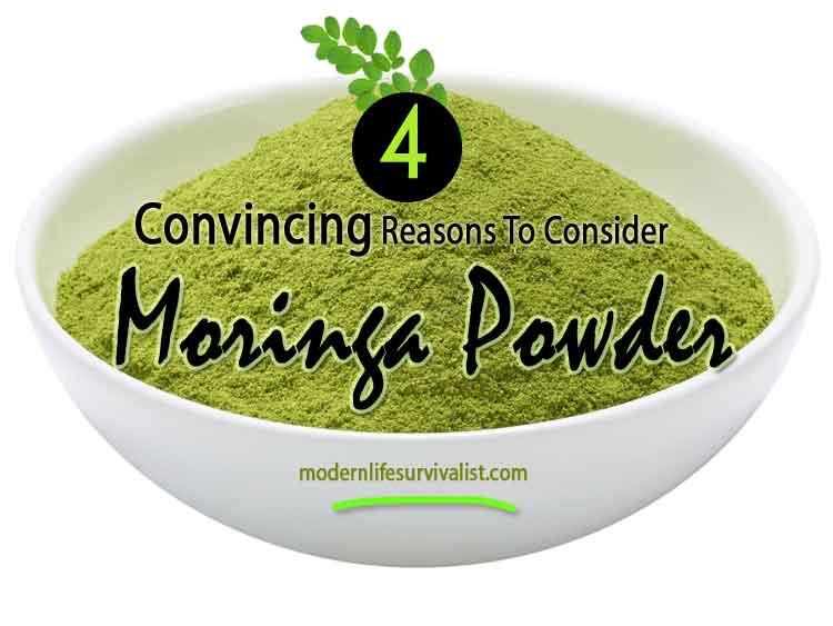 Four Convincing Reasons to Consider Moringa Powder
