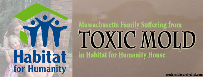 Massachusetts Family Suffering from Toxic Mold in Habitat for Humanity House